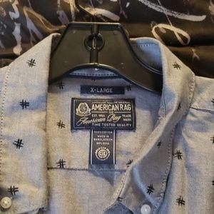 American Rag Hashtag Dress Shirt